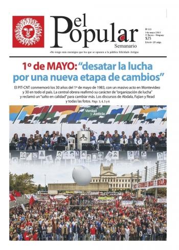 """Editorial de El Popular N°295: «""""Cada vez más nosotros y menos el azar»"""
