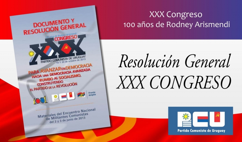 Resolución General del XXX Congreso del PCU