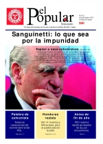 "Editorial del Semanario El Popular N° 412: ""Sanguinetti: Lo que sea por la impunidad"""