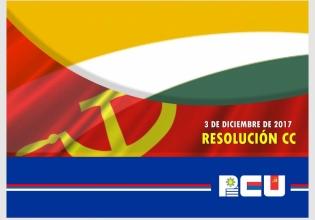 Resolución del Comité Central del PCU sobre Petrobras