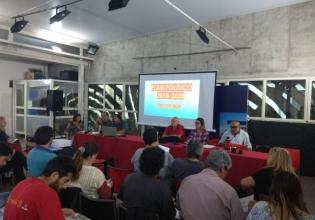 El PCU y la UJC planificando la lucha junto al pueblo