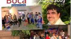 Reunión de apoyo a Oscar Andrade en Santa Lucía