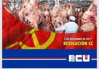 Resolución del Comité Central del PCU sobre el conflicto en la industria de la Carne