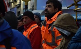 """""""Colocar, con lucha, la perspectiva de los trabajadores"""""""