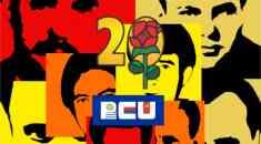 Acto a 45 años de los ocho mártires del Seccional 20 del PCU