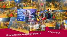 Oscar Andrade en Barros Blancos